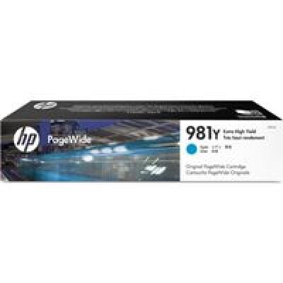 HP 981Y Extra High Yield Cyan Original PageWide Cartridge