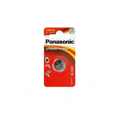 PANASONIC Lithiová baterie (knoflíková) CR-2016EL/1B  3V (Blistr 1ks)