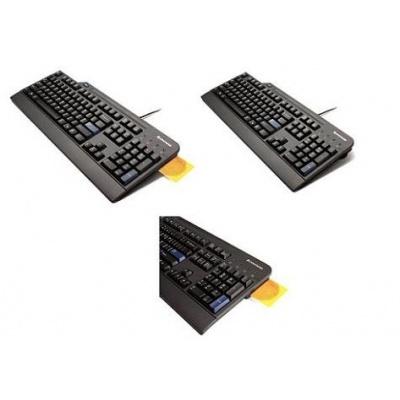 LENOVO klávesnice drátová USB Smartcard Keyboard CZ - USB, černá