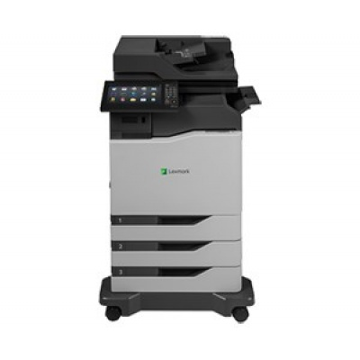 LEXMARK tiskárna CX860dtfe A4 COLOR LASER, 57ppm, 2048MB USB, LAN, duplex, dotykový LCD, 2x zásobník papíru, sešívačka