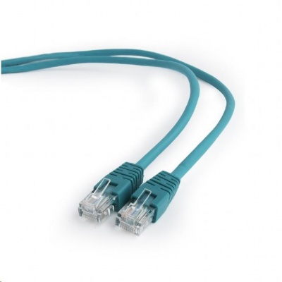 GEMBIRD Kabel UTP Cat5e Patch 1m, zelený