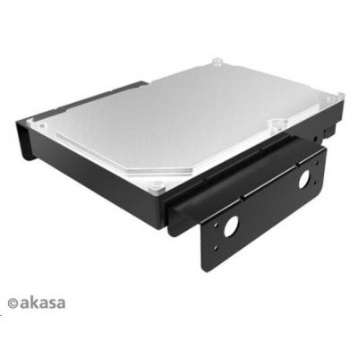"""AKASA montážní kit  pro 3,5"""" HDD do 5,25"""" pozice, černý"""