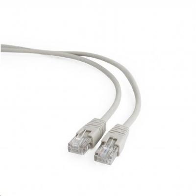 GEMBIRD Kabel UTP Cat5e Patch 0,5m, šedý