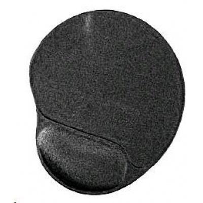 GEMBIRD Podložka pod myš gelová ergonomická Maxi, černá