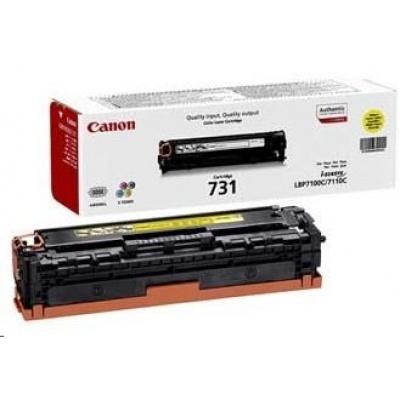 Canon LASER TONER  CRG-731Y 1 500 stran*