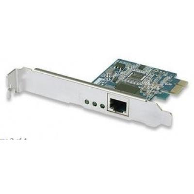 Intellinet Gigabit PCI Express Network Card, 10/100/1000 Mbps, Ethernet