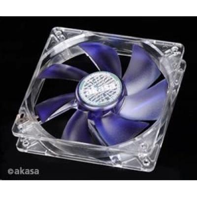AKASA ventilátor Emperor Blue, 120 x 25mm, kluzné ložisko