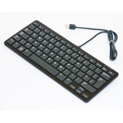 Raspberry Pi klávesnice, UK, černá/šedá