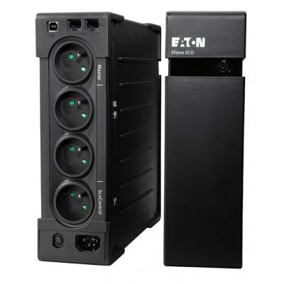 Eaton Ellipse ECO 800 USB FR, UPS 800VA / 500W, 4 zásuvky (3 zálohované), české zásuvky