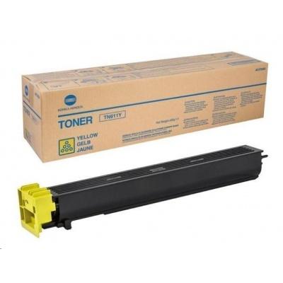 Minolta Toner TN-611Y, žlutý do bizhub C451, C550, C650 (27k)