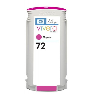HP 72 Magenta DJ Ink Cart, 130 ml, C9372A