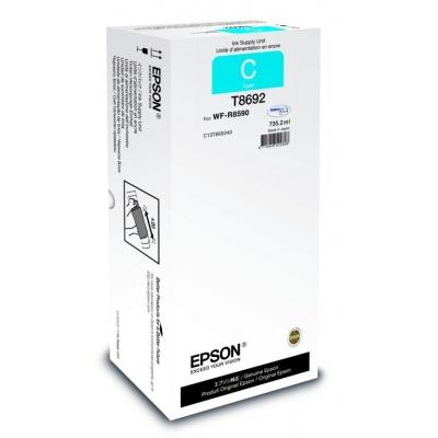 EPSON Ink bar Recharge XXL for A3 – 75.000str. Cyan 735,2 ml