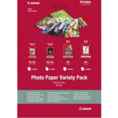 Canon PAPÍR Photo Paper Variety Pack 10x15cm VP-101