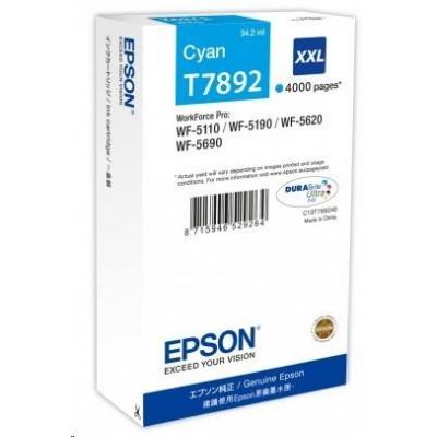 "EPSON Ink bar WF-5xxx Series Ink Cartridge ""Pisa"" XXL Cyan (34,2 ml)"
