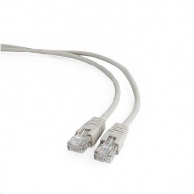 GEMBIRD Kabel UTP Cat5e Patch 0,25m, šedý