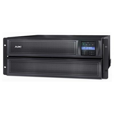 APC Smart-UPS X 3000VA Rack/Tower LCD 200-240V with Network Card (AP9631), 4U (2700W)