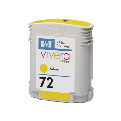 HP 72 Yellow DJ Ink Cart, 69 ml, C9400A
