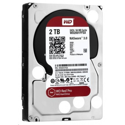 WD RED Pro NAS WD2002FFSX 2TB SATAIII/600 64MB cache