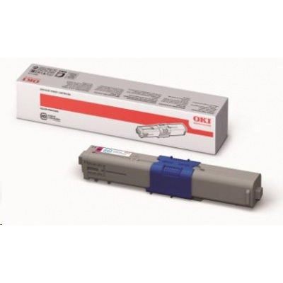 OKI Magenta toner do C510/511/530/531/MC561/562 (5 000 stránek)