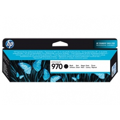 HP 970 Black Ink Cart, 3000 stran, CN621AE