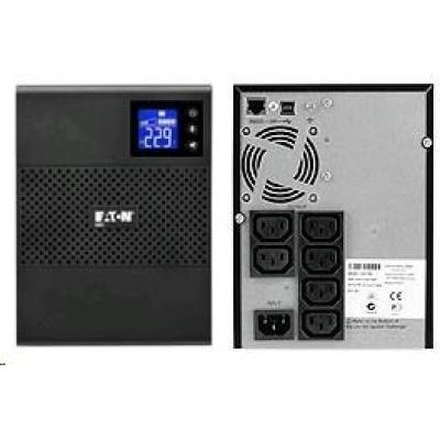 Eaton 5SC 750i, UPS 750VA / 525W, 6 zásuvek IEC, LCD