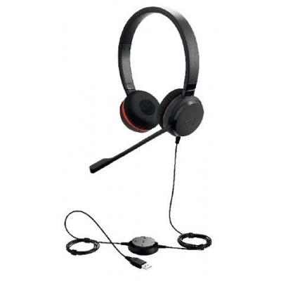 Jabra náhlavní souprava Evolve 30 II, stereo, USB + 3,5 mm jack, NC, MS