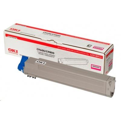 Oki Toner Magenta do C9600/C9650/C9800/C9850/C9800MFP/C9850MFP (15k)