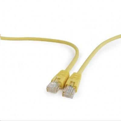 GEMBIRD Kabel UTP Cat5e Patch 1m, žlutý