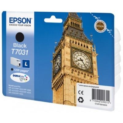 EPSON Ink čer WorkForce-4000/4500 - Black L-1200str. (24 ml)