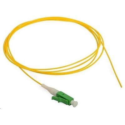 Pigtail SM 9/125, OS2, konektor LC(APC), LS0H, 1m