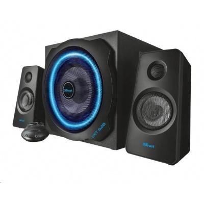 TRUST Reproduktory 2.1 GXT 628 2.1 Illuminated Speaker Set Limited Edition - black, černé