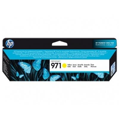 HP 971 Yellow Ink Cart, 2500 stran, CN624AE