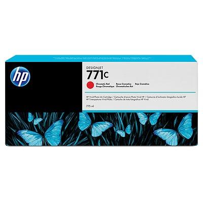 HP 771C Red chromatic DJ Ink Cart, 775 ml, B6Y08A