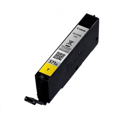 CANON BJ CARTRIDGE CLI-571XL Y
