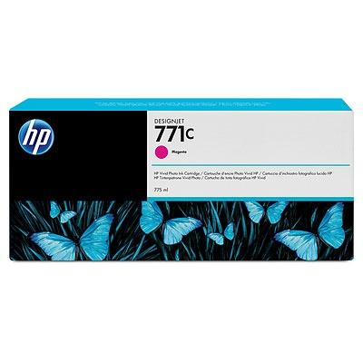 HP 771C Magenta DJ Ink Cart, 775 ml, B6Y09A