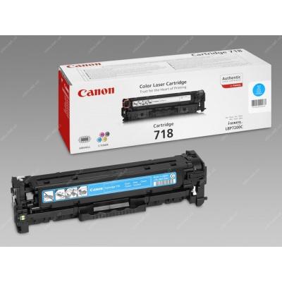 Canon LASER TONER cyan CRG-718C (CRG718C) 2 900 stran*