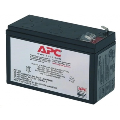 APC Replacement Battery Cartridge #2, BK250(400),BP280(420),SUVS420I,BK300, BE550, BH500INET