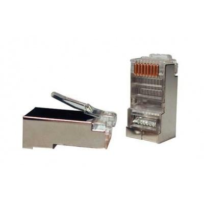 Konektor STP RJ45 (8p8c), Cat5E, 50µm, licna - 100 ks