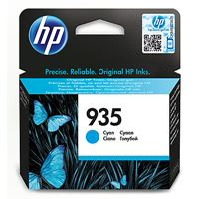 HP 935 Cyan Ink Cartridge, C2P20AE