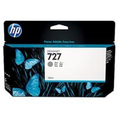 HP 727 Gray Ink Cart, 130 ml, B3P24A
