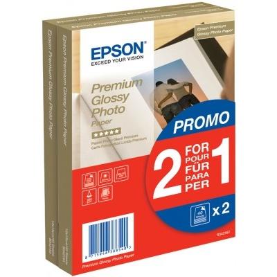 Paper Premium Glossy Photo 10x15 255g/m2 (2x40 sheet) 2 za cenu 1