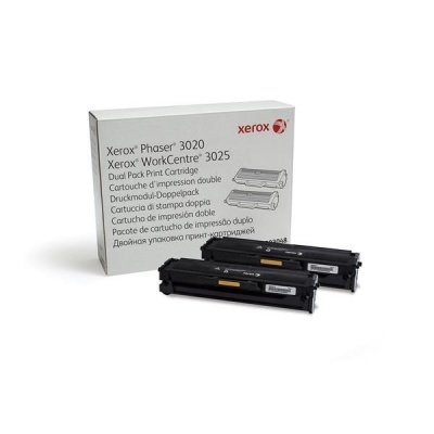 Xerox Toner Black pro Phaser 3020/3025 Dual pack (3000 str)