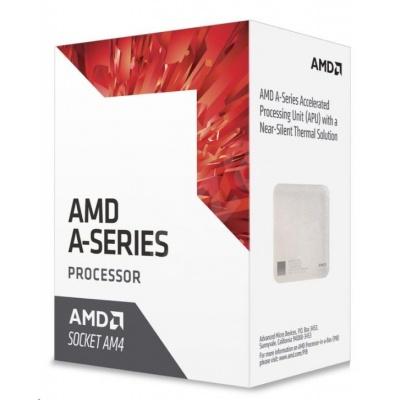 CPU AMD A8 9600 (Bristol Ridge), 4-core, 3.4GHz, 2MB cache, 65W, socket AM4, VGA Radeon R7, BOX
