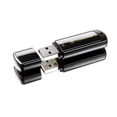 TRANSCEND Flash Disk 4GB JetFlash®350, USB 2.0 (R:13/W:4 MB/s) černá