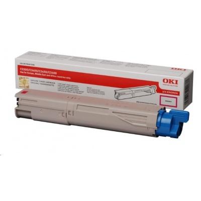 Oki Toner Magenta do C3300n/C3400n/C3450n/C3600n (1,5k)