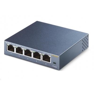 TP-Link TL-SG105 [5portový stolní switch 10/100/1000 Mbit/s]