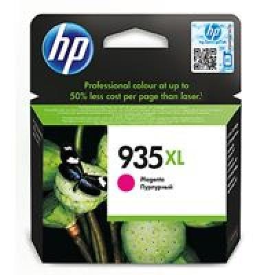HP 935XL Magenta Ink Cartridge, 825str, C2P25AE