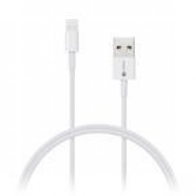 CONNECT IT Wirez Apple Lightning -> USB-A, bílý, 0,5 m