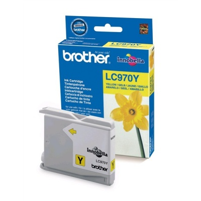 BROTHER INK LC-970Y yellow (EW*) cca 300