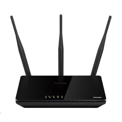 D-Link DIR-809 Wireless AC750 Dual Band 10/100 Router